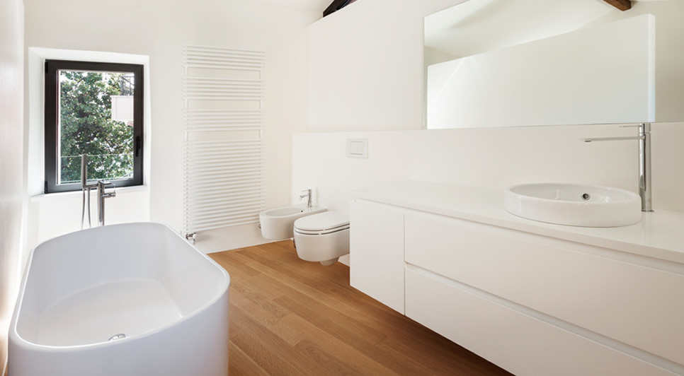 Tub bathrooms Bedford example