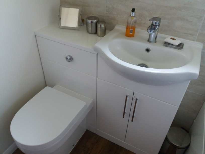 Bathroom storage from Tub Bathrooms Milton Keynes