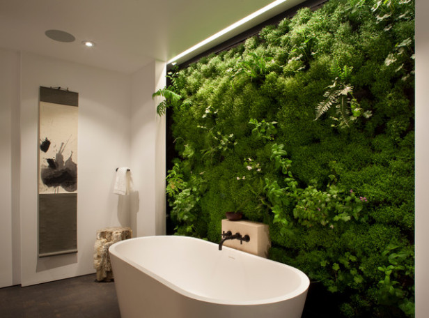 Flora in the bathroom from Tub Bathrooms Milton Keynes